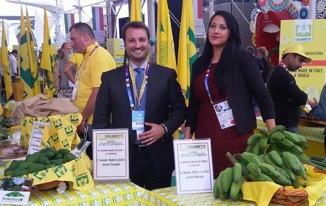 Gli imprenditori siciliani Andrea Passanisi e Letizia Marcenò
