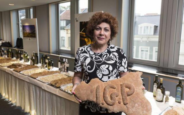 Le delizie siciliane della tavola in vetrina a Bruxelles