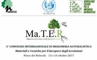 3° Convegno Internazionale di Ingegneria Naturalistica