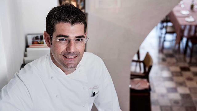 Lo chef Accursio Craparo