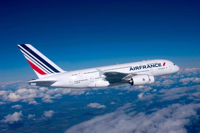 Da Catania a Parigi con Air France