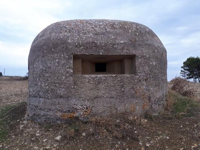 Bunker della Secondo Guerra Mondiale sito a Trappeto (PA)