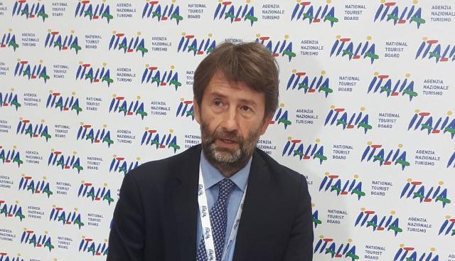 Il ministro dei Beni culturali e del turismo Dario Franceschini