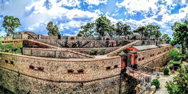 Il Forte San Jachiddu è stato totalmente ristrutturato e trasformato in un Parco ecologico