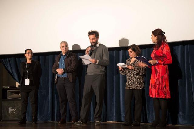 La giuria della XVI edizione di Magma - mostra di cinema breve regista