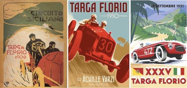 Manifesti storici della Targa Florio