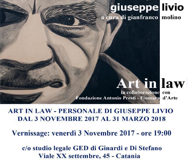 art-in-law-personale-di-giulio-livio