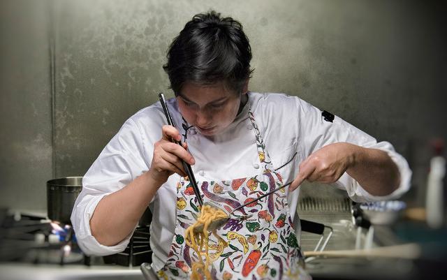 La giovane chef Martina Caruso