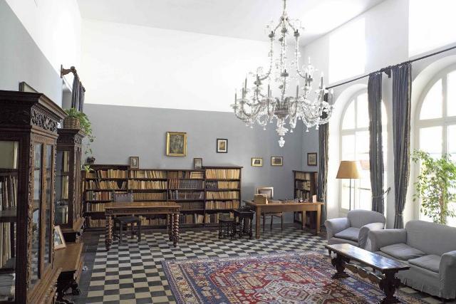 Lo studio di Luigi Pirandello nella casa-museo di Roma