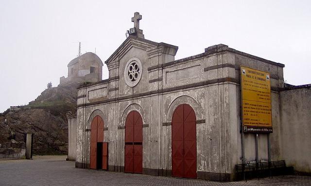 Il Santuario della Madonna di Dinnammare e quel poco che rimane del Forte omonimo - Messina
