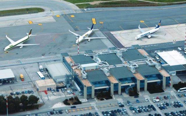 Alitalia e Aliblue Malta vanno ''in soccorso'' dello scalo di Trapani