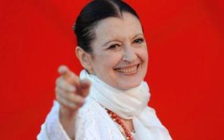 Carla Fracci alle Cantine Storiche Donnafugata