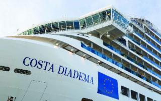 Costa Diadema per la prima volta a Palermo