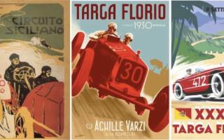 Targa Florio, dalle Madonie all'Australia