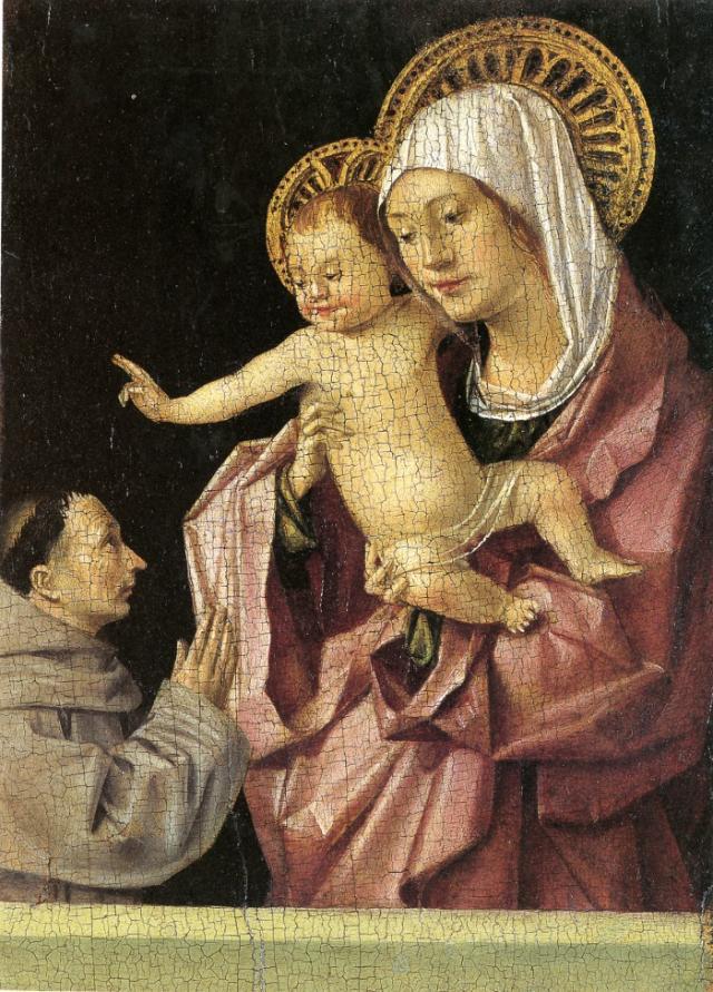 Al Castello Ursino di Catania esposta ''La Madonna col bambino benedicente'' di Antonello da Messina