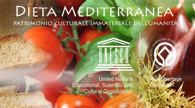 La Dieta Mediterranea è stata iscritta nella lista Unesco come Patrimonio culturale immateriale dell'Umanità il 16 novembre 2010