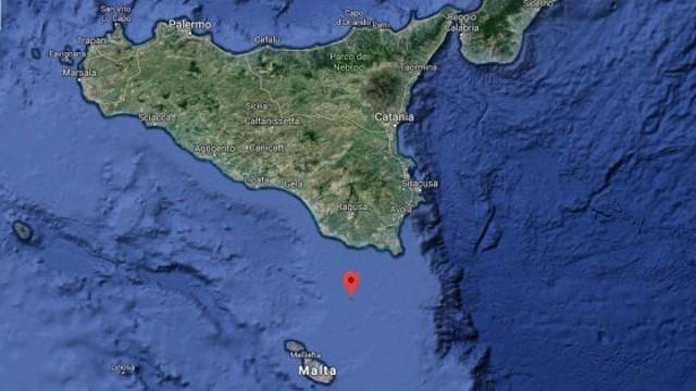 Forte scossa (3,9) nel Canale di Sicilia: nessun danno a persone o a cose