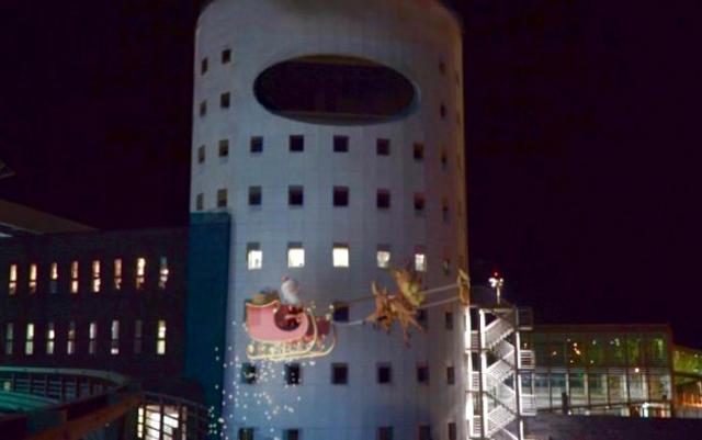 Babbo Natale fa scalo a Fontanarossa