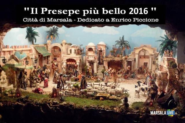 A Marsala la XII edizione del concorso ''Il Presepe più Bello''