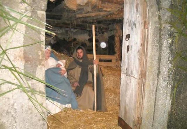 La Natività del Presepe vivente di Montalbano Elicona