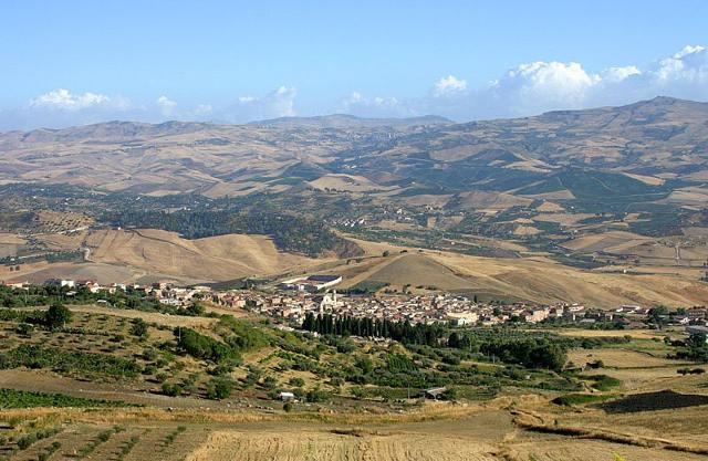 Villalba, al centro della Sicilia