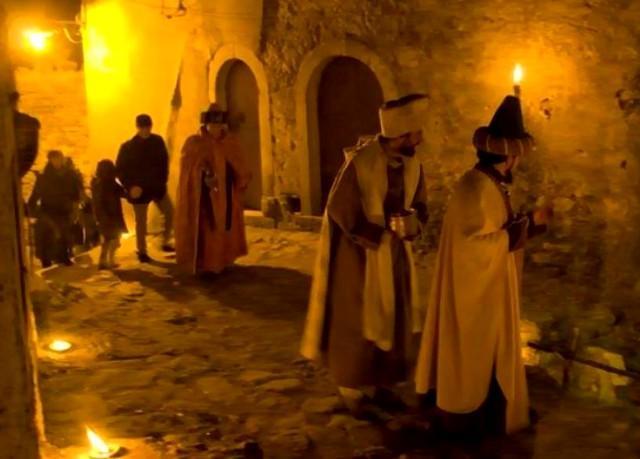 Il cammino dei Re Magi nel Presepe vivente di Montalbano Elicona