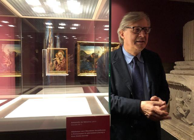 Musei siciliani aperti, mentre l'assessore Sgarbi si offre di fare da guida la notte di Capodanno (a Torino)