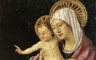 Al Castello Ursino di Catania esposta La Madonna col bambino benedicente di Antonello da Messina