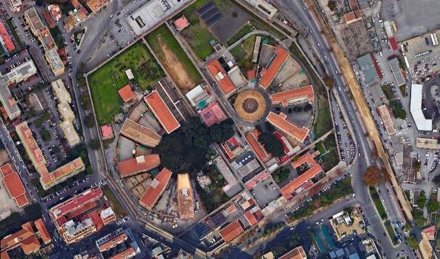 Il carcere dell'Ucciardone di Palermo