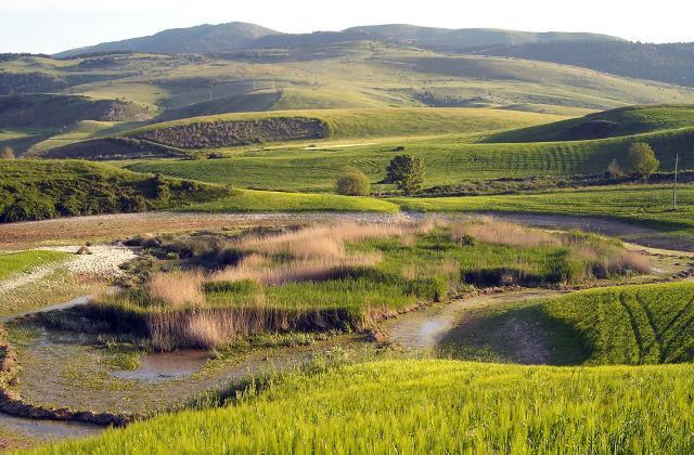 Panorama del Parco dei Monti Sicani