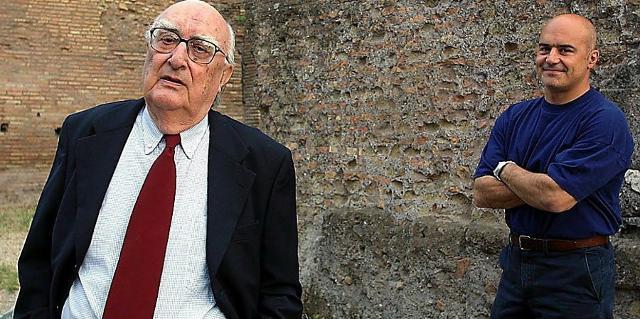 Andrea Camilleri e Luca Zingaretti, il volto televisivo del Commissario Montalbano