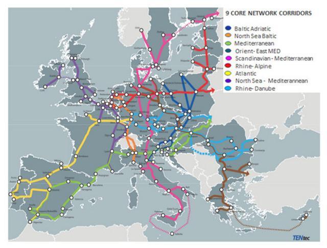 Quel corridoio che dal Nord Europa arriva fino in Sicilia…