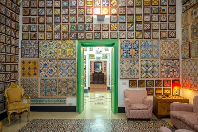 Notte alle stanze del genio casa museo delle maioliche via