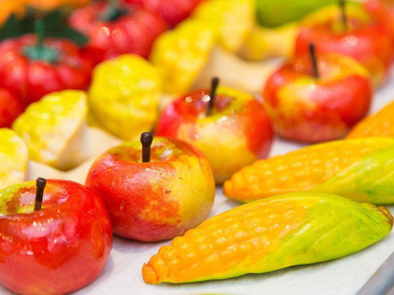 Palermo e la Frutta di Martorana