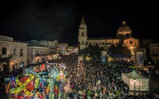 Il Carnevale di Acireale per M'Illumino di Meno 2018
