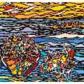 ''Connubio arte e moda'': mostra di Francesco Anastasi a Castello a mare