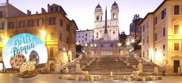 Fiasconaro testimonial d'eccezione di ''Dolce Pasqua'' a Roma