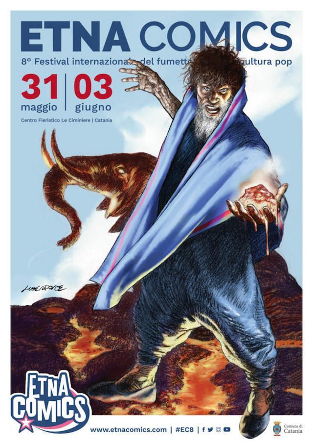 Il mago e il liotru sono i numi tutelari dell'VIII Etna Comics