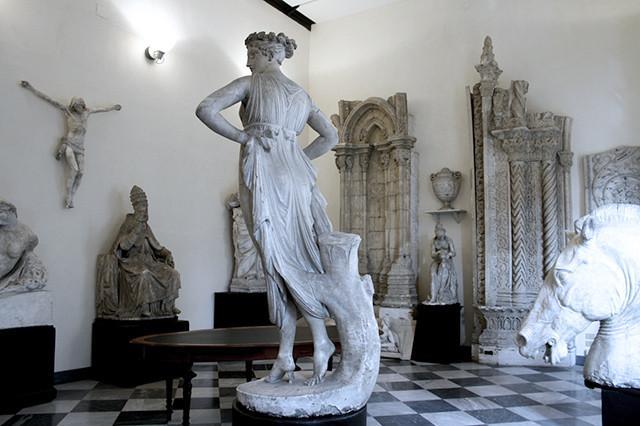 La gipsoteca dell'Accademia di Belle arte di Palermo