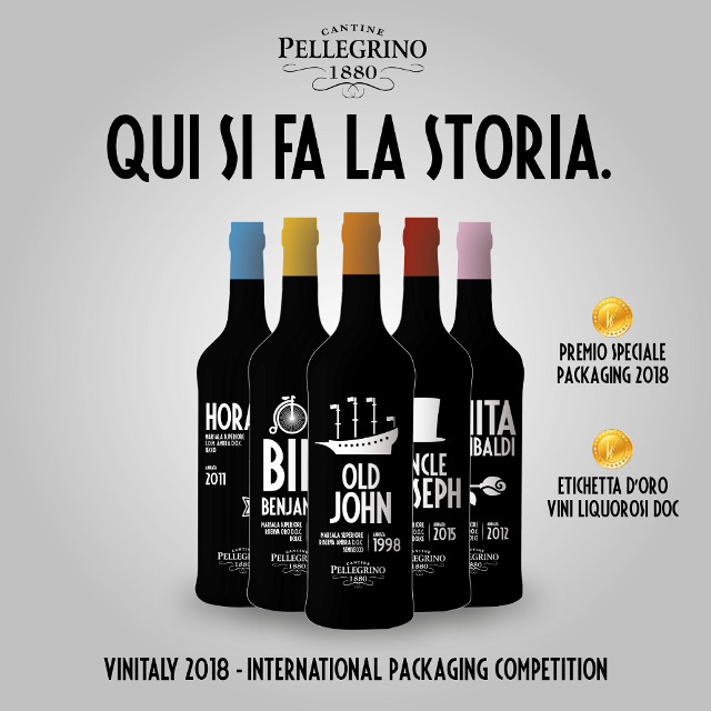 Marsala Revolution! Pellegrino trionfa all'International Packaging Competition