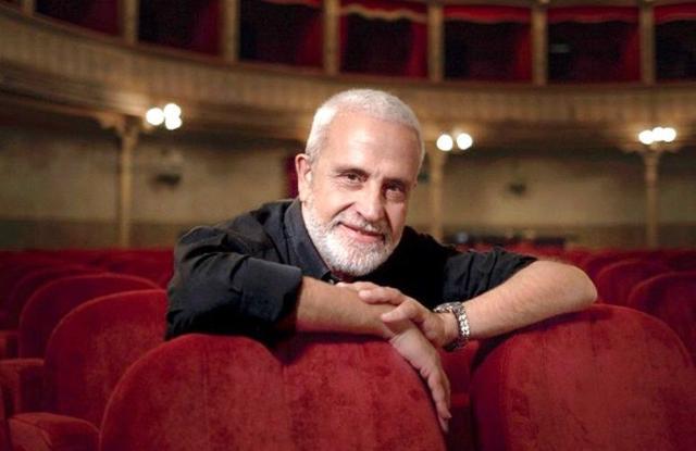 Roberto Alajmo, scrittore, giornalista ed ex direttore del Teatro Biondo di Palermo