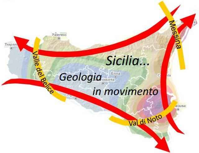 Sicilia... Geologia in movimento