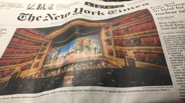 ''Non solo una bella facciata ma un simbolo antimafia''