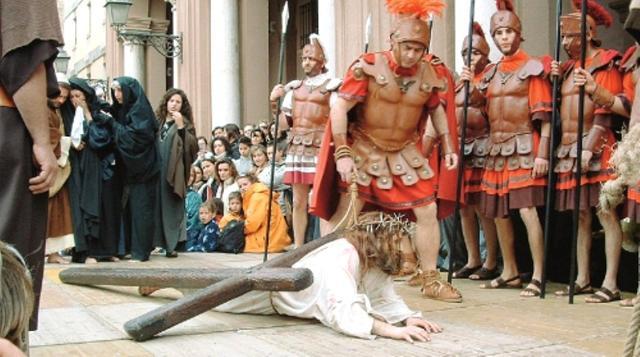 La Via Crucis della processione dei Misteri viventi di Marsala