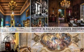 Notte a Palazzo Conte Federico. Un viaggio nel tempo di Palermo