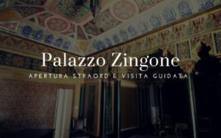 Apertura straordinaria e visita guidata Palazzo Zingone Trabia