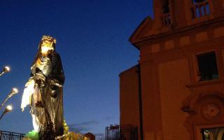 Passeggiata serale per le vie di Agrigento
