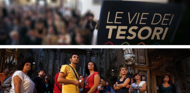 """""""Le Vie dei Tesori"""" è stato inserito nella lista dei grandi eventi di richiamo turistico della Regione Sicilia."""