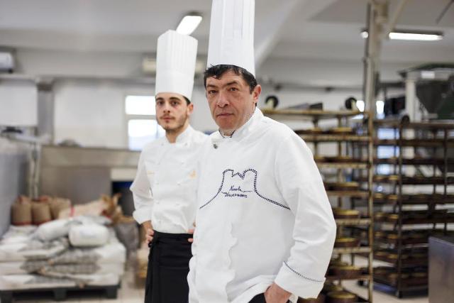 Il Maestro Nicola Fiasconaro e il figlio Mario