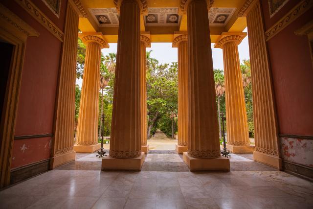 Il Gymnasium dell'Orto Botanico di Palermo - ph CAVE studio per Manifesta 12 Palermo